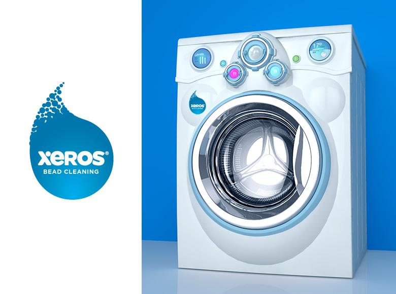 Xeros Washing Machine Illustrations